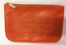 Christian Lacroix Ambre Ladies Orange Make Up Cosmetics Bag Pouch Zip Avon
