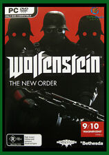Wolfenstein: The New Order  PC GAME *** Brand New/Sealed & AU Stock***