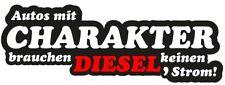 Aufkleber Autos mit Charakter Motiv Diesel JDM Feinstaub OEM Plakette Fun Lustig