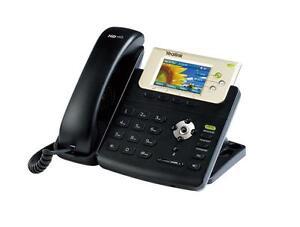 Fully Refurbished Yealink SIP-T32G Gigabit Color IP Phone (Black)