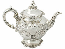 Sterling Silver Teapot by Edward and John Barnard - Antique Victorian