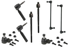 BUICK ENCLAVE 2008-2015 TIE ROD END OUTER & INNER PLUS SWAY BAR & BALL JOINT 8PC