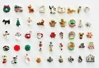 Origami Owl Christmas Charms Tree, Snow Woman, Rudolph, Santa More Retired htf
