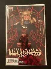 MARVEL COMICS NEAR MINT 8//7//19 OF 5 INVISIBLE WOMAN #2