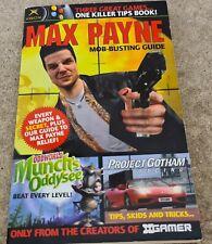 Xgamer Max Payne, Munch's Oddysee & Project Gotham Hint & Cheat Book VGC RARE