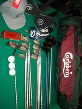 Golf Club Set Ping Driver Wood Lynx Irons Putter Bag New Titleist Balls FREE Shp