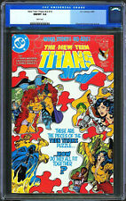 New Teen Titans v2 #15 CGC 9.8 White Pages DC Comics 1985 1st App Queen Talathus