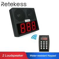 Retekess Intelligent Call System Voice Pager Waiter Calling System forRestaurant