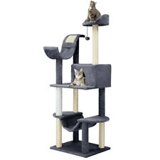 """60.5"""" New Kitten Cat Tree Tower Condo Furniture Scratching Kitty Pet Play House"""