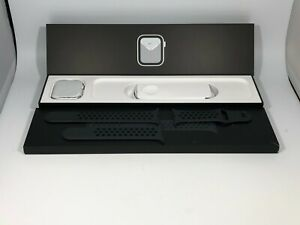 Apple Watch Series 6 (GPS) Silver Nike Sport 44mm w/ Anthracite Sport Good Cond