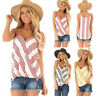 Womens Cami Top Summer Vest Tank Tops Sleeveless Strappy Boho T Shirts Blouse
