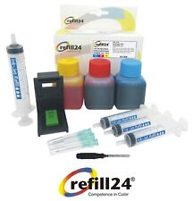 Kit de Recarga para Cartuchos de Tinta Canon 511 / 513 Color + 150 ML Tinta