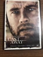 Cast Away (DVD, 2001, 2-Disc Set, Sensormatic Special Edition)