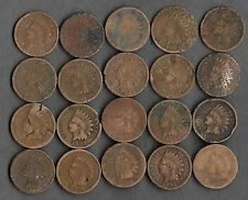 Rare Very Old Antique Indian Head Penny American US Coin Collection Money 20 Lot
