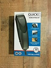 New WAHL Quick Cut Haircutting 10 Piece Kit Hair Clippers Guards Electric Trim