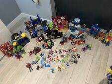 Imaginext Figures And Playset Large Bundle - Marvel Good Condition