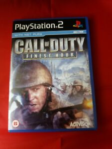 Call of Duty Finest Hour -  Playstation 2 game  with booklet