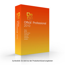 Microsoft Office 2010 Professional MS Pro Esd sofort Word Exel Outlook