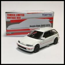 Tomica Limited Vintage NEO LV Honda Civic SiR-II EF9 Group A 1/64 TOMYTEC WHITE