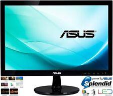 "ASUS VS197DE 18.5"" HD 60Hz 5ms 1360 x 768 16:9 VGA LED Widescreen Office Monitor"