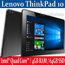 Lenovo ThinkPad 10 Touch Tablet PC 64GB / 4GB RAM Intel 1.6Ghz CPU Win-10 Pro
