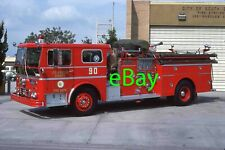 Fire Truck Photo Los Angeles Classic WLF Ambassador Engine Apparatus Madderom
