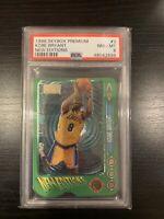 Kobe Bryant 1996-97 Skybox Premium New Editions ROOKIE Card RC #3 PSA 8
