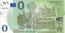 MEMOEURO Schein - König Ludwig II von Bayern Schlösser 80/1 memo euro schein