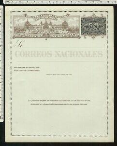 Guatamala, letter card with TRAIN        u1887