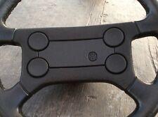 MK1-MK2 VW Volkswagen Scirocco Rabbit GTI 16v OEM Leather Steering Wheel 4spokes