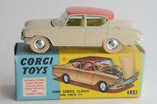 Corgi Toys No 234 Ford Consul Classic - Made In Great Britain - Boxed