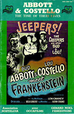 Horror Pictures - Abbott & Costello meet Frankenstein - The Time of Their Lives