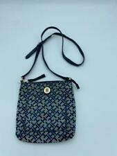 Tommy Hilfiger Women's Messenger Bag Navy Blue Multi Shoulder Purse