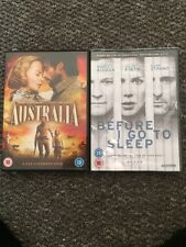 Nicole Kidman DVD Bundle Australia Before I Go To Sleep