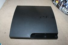 Sony PlayStation 3 Slim PS3 160GB Black Console - Faulty -