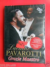 dvd luciano pavarotti grazie maestro luciano pavarotti's concert live barcelona