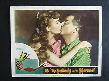 MR. PEABODY AND THE MERMAID '48 WILLIAM POWELL WITH ANN BLYTH AS MERMAID BEST LC
