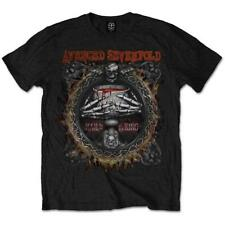 OFFICIAL LICENSED - AVENGED SEVENFOLD - DRINK T SHIRT - METAL A7X