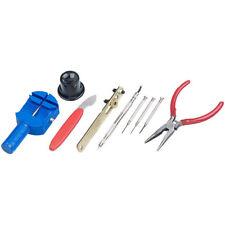 Uhrmacherset: Uhrmacherwerkzeug-Set, 9-teilig, Profi-Qualität, Aufbewahrungsbox