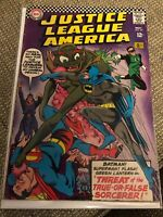 JUSTICE LEAGUE OF AMERICA 49 SILVER AGE DC COMICS NOV 1966 Batman superman flash