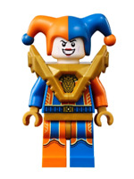 Lego Jestro 72006 Orange and Blue Nexo Knights Minifigure