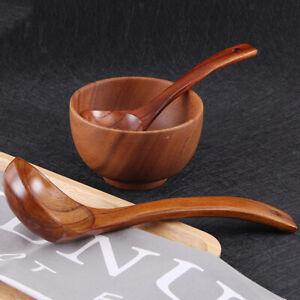 28 cm OYL Suppenkelle aus Holz handgefertigt gro/ßer Suppenl/öffel