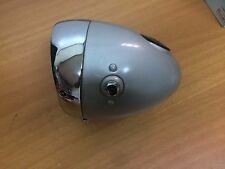HEADLIGHT RINDER 130 mm grey NEW OLD STOCK ducati derbi puch benelli