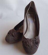 Clarks Suede Wide (E) Wedge Heels for Women