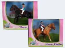 Farm Spielset Pferd mit Reiter 2-fach 1:24