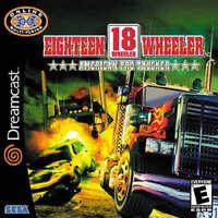 🔥 18 Wheeler American Pro Trucker Sega Dreamcast  Disk Only