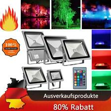 LED RGB reflector colocado 10w-100w eh de colores faros emisor jardín ip65 exterior