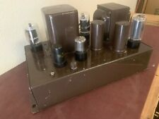 New listing Sargent Rayment Sr98 Vintage 6L6 Tube Mono Amp. Triad Output Transformers