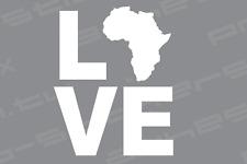 Africa Love Vinyl Decal Sticker