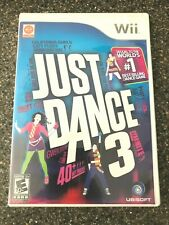 Just Dance 3 (Nintendo Wii) Complete w/ Manual - Tested Working - Free Ship
